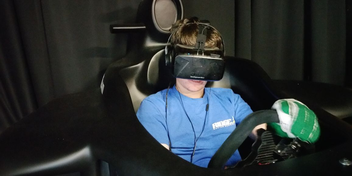First VR Simulator Shipped