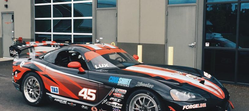 Cindi Lux uses Racing Simulator to Train for Trans Am