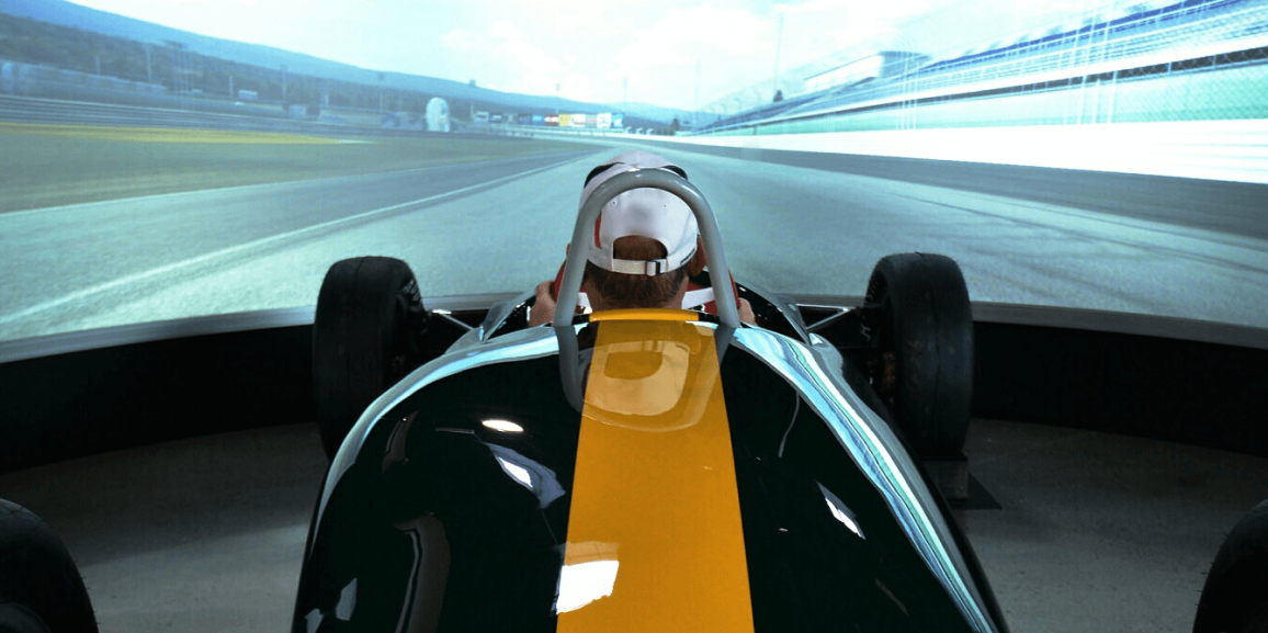 VR Motion, Corp. Race Simulators used by World Of Speed Museum